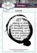 CE Rubber Stamp by Andy Skinner - Coffee - CEASRS011